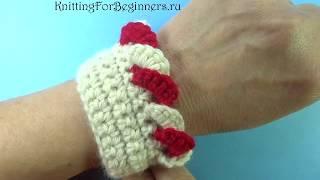 КАКАЯ КРАСОТА! Кайма крючком Волан вязание крючком Crochet border  366