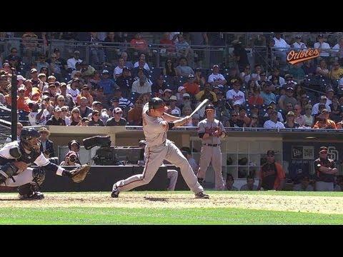 BAL@SD: Darren O'Day has his first big league at-bat