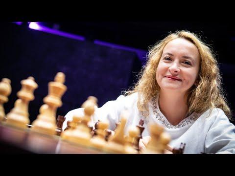 Stefanova on her victory vs Kosteniuk   2019 Women's FIDE Grand Prix - Skolkovo  