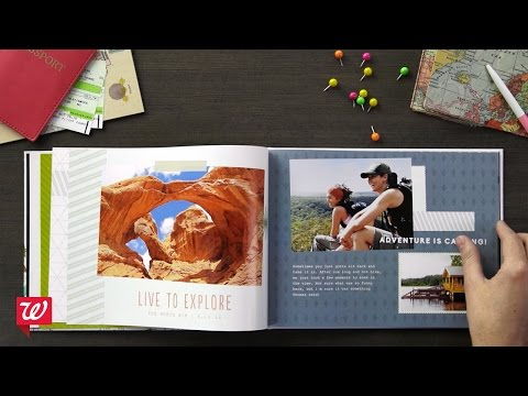 Create Personalized Photo Books At Walgreens