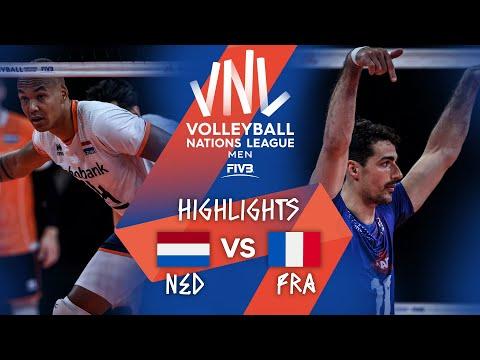 NED vs. FRA - Highlights Week 4 | Men's VNL 2021