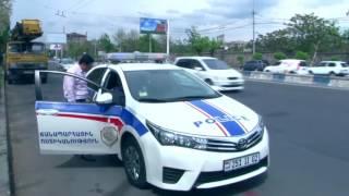 Ճանապարհային ոստիկանությունը վերազինվում է տեխնիկական նոր սարքավորումներով