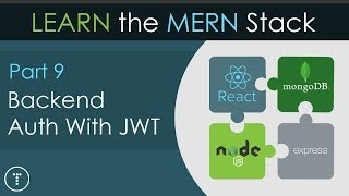 [45.33 MB] Learn The Mern Stack [9] - Backend JWT Auth