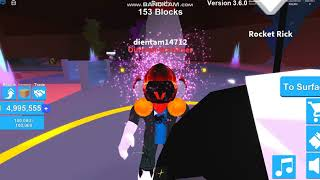 Roblox: the way through Candy Land easy 0 Rebirth (Mining simulator) with notsury