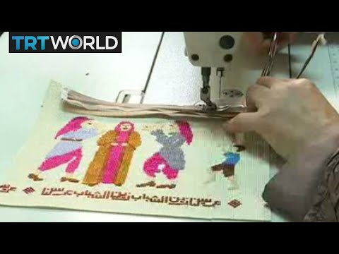 Palestine Embroidery: Ancient needlework helps refugees in poverty