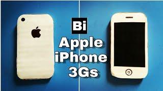 How to make a Apple iPhone 3gs in Cardboard l DIY CARDBOARD IPHONE l Bi