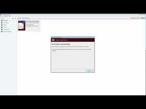 DRM EBooks: Autorisieren Von Digital Editions Mittels Adobe-ID