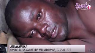 Wuuno omuvubuka gw'ebatemako omukono nga kati avundira mu nnyumba yekka