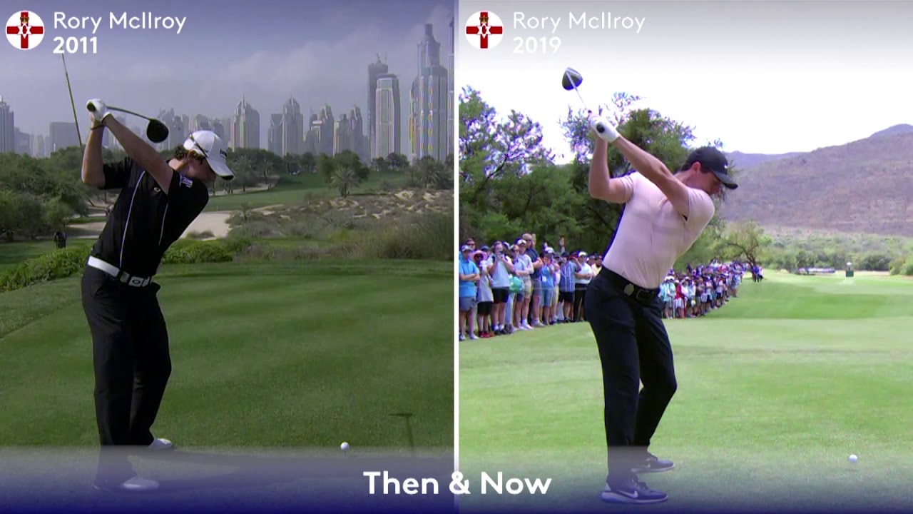 Swings Then Now Rory Mcilroy Youtube