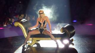 Britney Spears live at TD Banknorth Garden - Breathe On Me & Touch Of My Hand