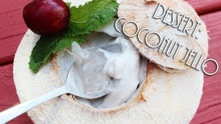 ☀ Cooking With Mom: Coconut Jello {Rau Câu dừa}