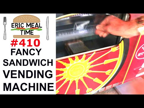 Fancy Sandwiches Vending Machine In Japan - Eric Meal Time #410