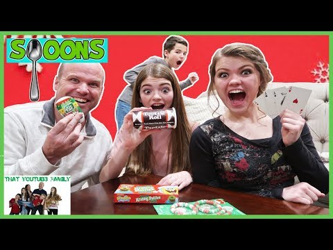 SPOONS Game with Holiday Candy  That YouTub3 Family