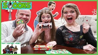 SPOONS Game with Holiday Candy / That YouTub3 Family