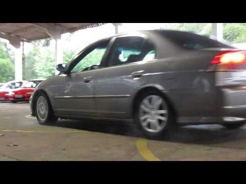 (BURNOUT) Honda Civic ES1 Burnout! !|/ JDM MOTORS - RS SQUAD \|!