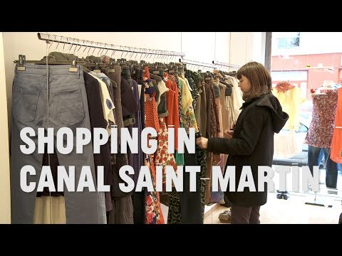 Paris: The Local Way - Shopping in the Canal Saint-Martin Neighborhood