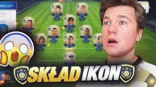 CAŁY SKŁAD IKON  FIFA 18 WORLD CUP