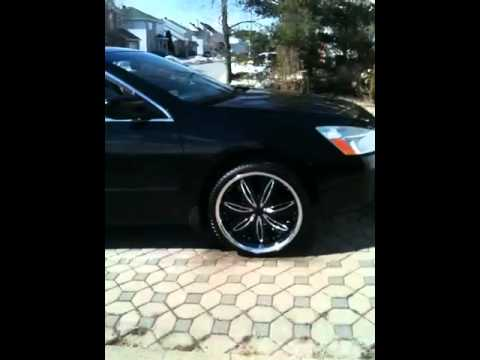 Honda Accord 2004 on 20's - YouTube