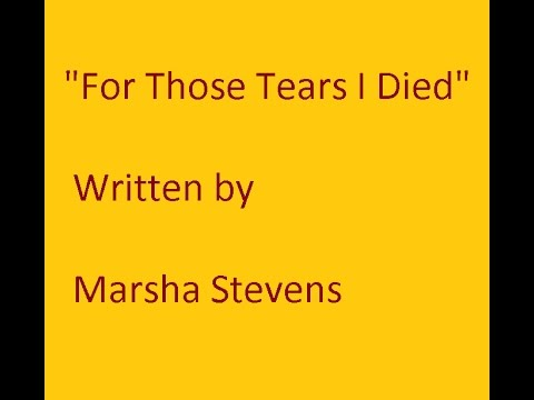 for those tears i died pdf