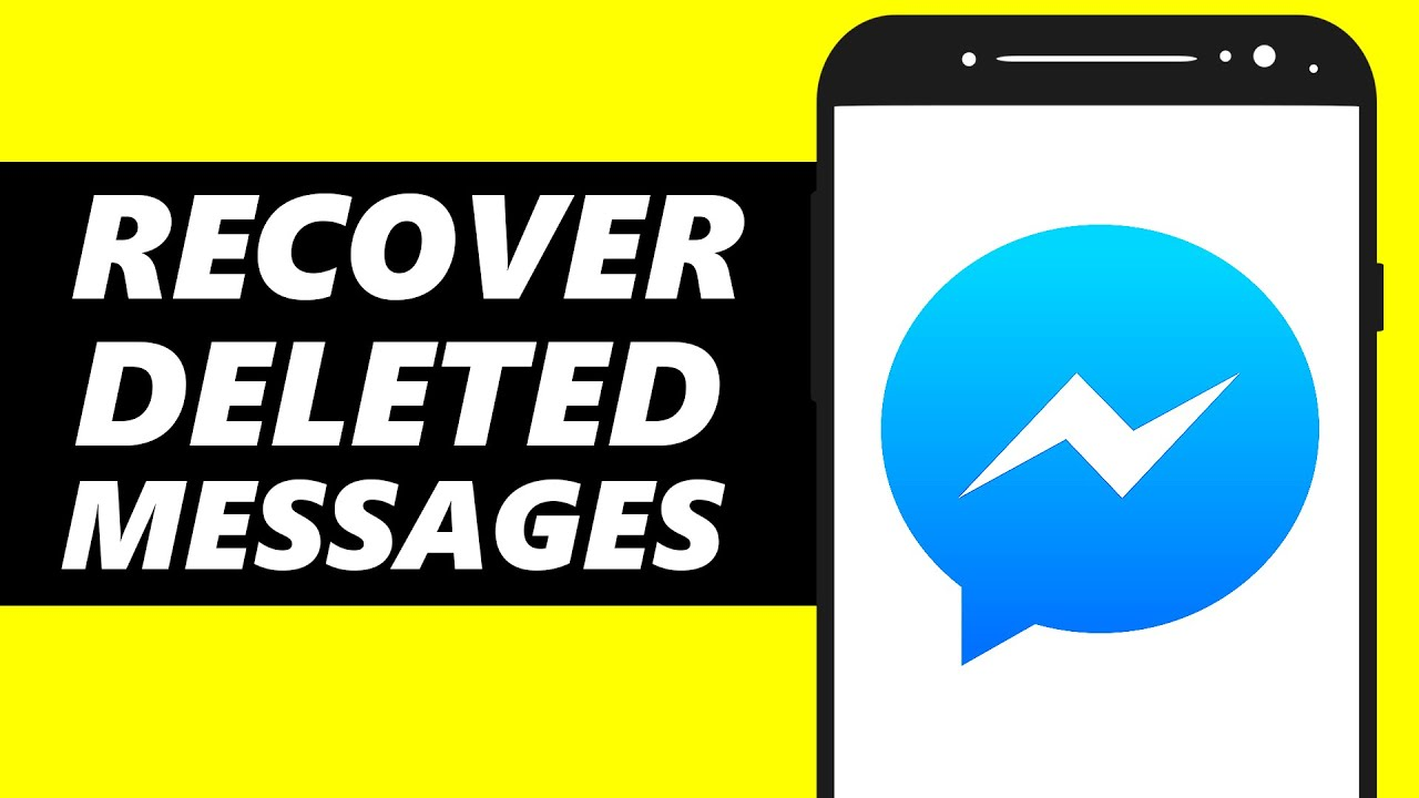 How to Recover Deleted Messages on Messenger 7 - Restore Messenger  Messages!