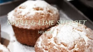 Maple & Lime Sherbet Muffins Recipe