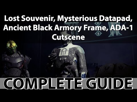 Mysterious Datapad Quest Guide! How to complete Mysterious Datapad Quest (Destiny 2 Black Armory) thumbnail
