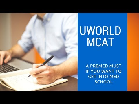 UWorld MCAT Is The Only QBank Trusted By Med Students Use It to Crush Your MCAT