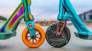 ARE BIG SCOOTER WHEELS FASTER? *110MM VS 120MM*
