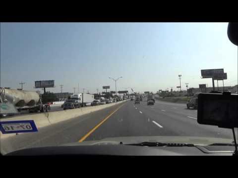 Road Trip from San Antonio, TX to Austin, TX I-35 North