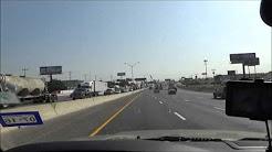 Sony CX405: Road Trip from San Antonio, TX to Austin, TX I-35 North