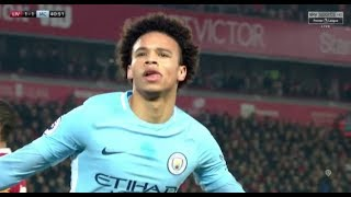 Leroy Sane vs Liverpool 1412018 Away