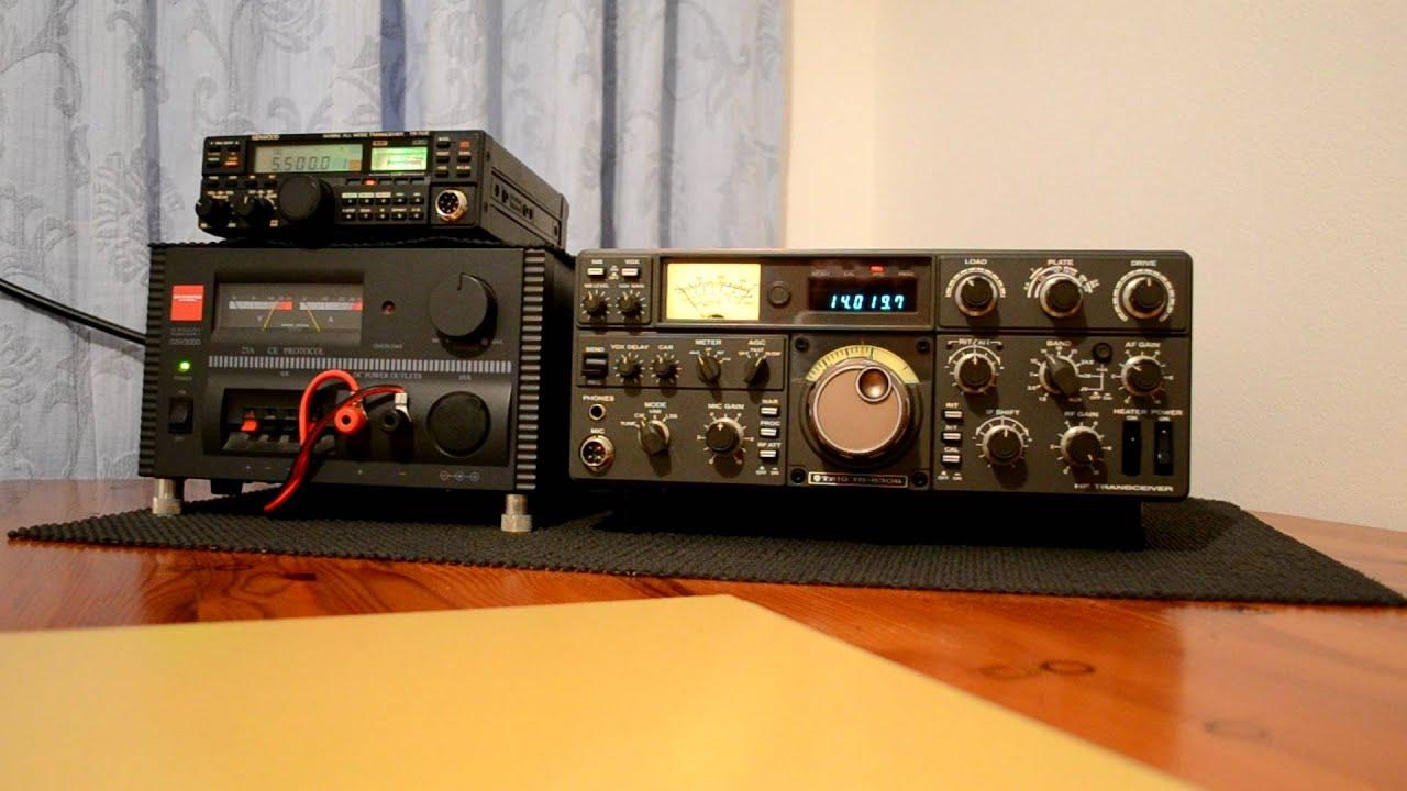 Amateur Radio Station Wb4omm: Kenwood Trio TS-530S 2W0DAA Amateur Radio Station