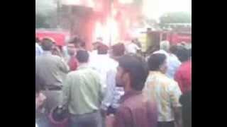 Fire In Delhi At Sabji Mandi On 15th June,2012
