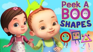 Peekaboo - Shapes Song | Baby Ronnie Rhymes | Videogyan 3D Rhymes | Kids Songs Cartoon Animation