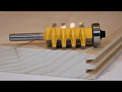 How to use a Finger Joint Router Bit to Join Wood