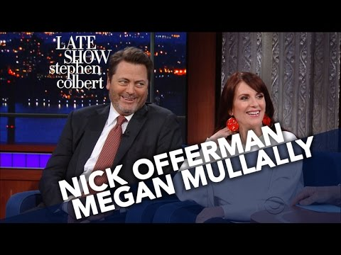 Thumbnail: Nick Offerman And Megan Mullally Decide Their Celebrity Couple Name