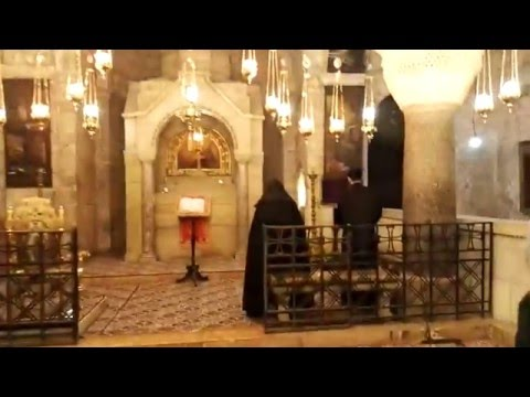 The Armenian The Chapel of St. Helena. The Church of the Holy Sepulchre, Jerusalem. Israel
