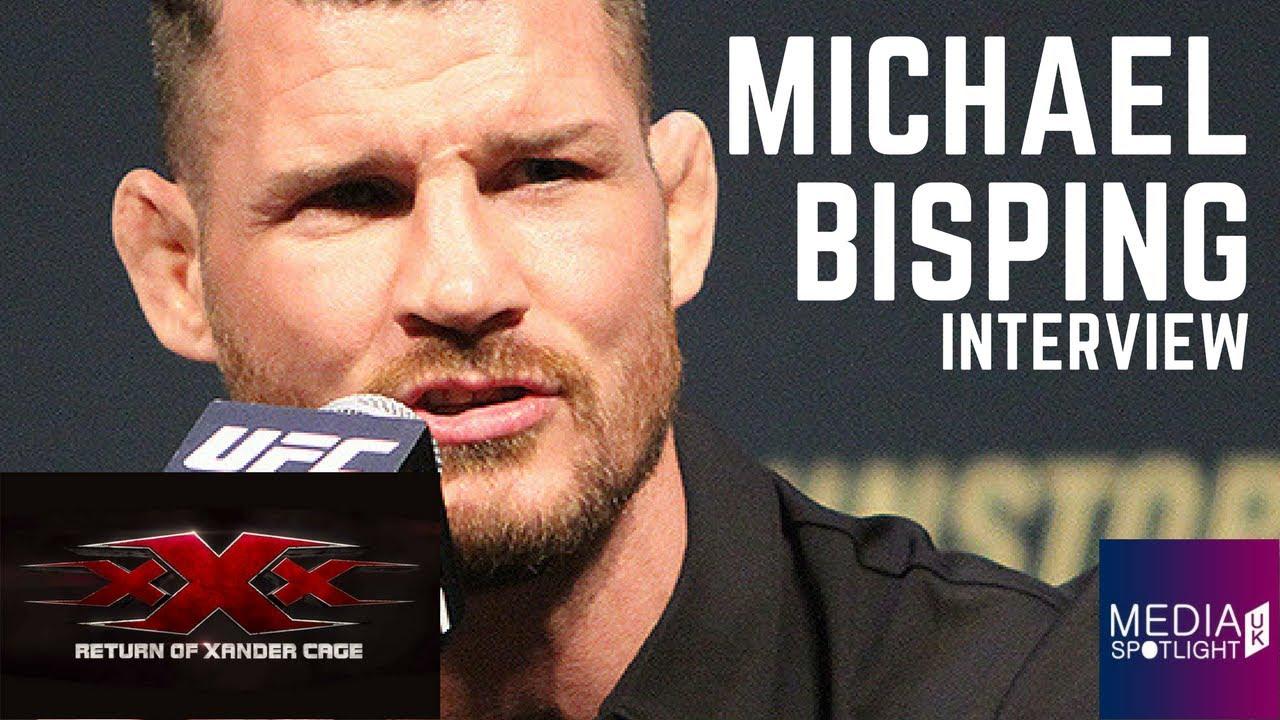 Michael Bisping Interview xXx Return Xander Cage European
