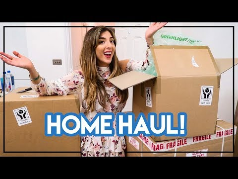 HOME HAUL & UNBOXING! | Amelia Liana