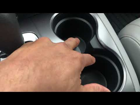 Honda Pilot - Hidden compartments and Slushie holder location