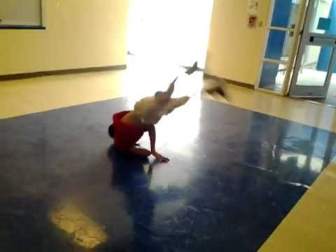 Liberty memorial middle school Bboy Jesus windmill