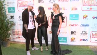 Lidia Buble si DDY Nunes - interviu pe covorul verde la Media Music Awards 2014!