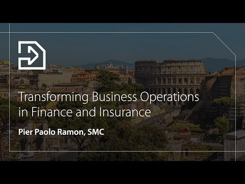 Transform Business Operations in Finance and Insurance