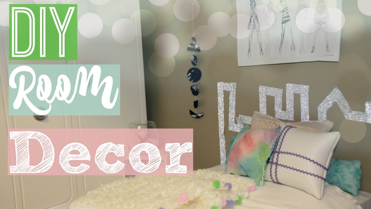 Diy room decor diy american girl doll room decor 2016 for Diy room decorations youtube