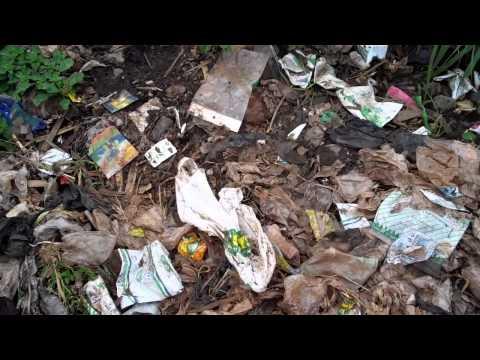 Garbage in Mathare Slum, Nairobi, Kenya
