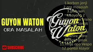 Gambar cover Full Album Guyon waton terpopuler 2018