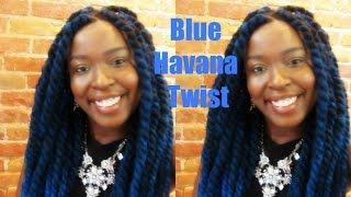 Blue Havana Twist