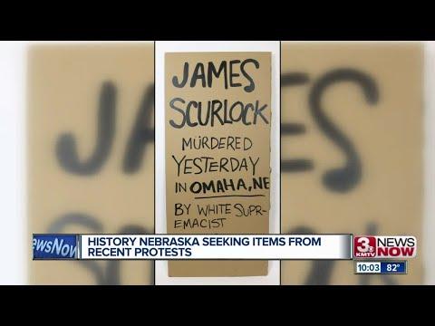 History Nebraska Seeking Items from Recent Protests