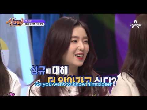 [ENG SUB] Sunggyu and Wendy at Singderella