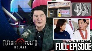 Download Mp3 Tutok Tulfo Reload | November 26, 2019 Full Episode
